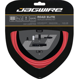 Jagwire Road Elite Sealed Kit de câbles de frein, red